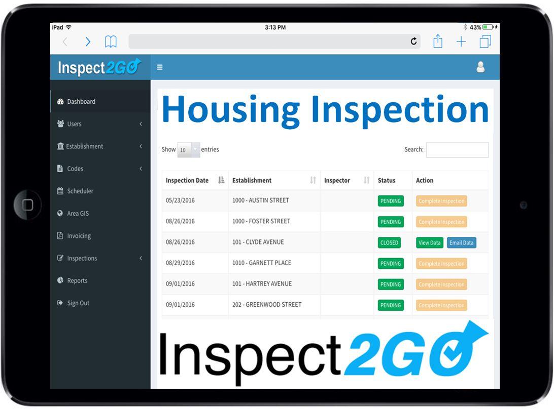 Housing Inspection Cloud Solution